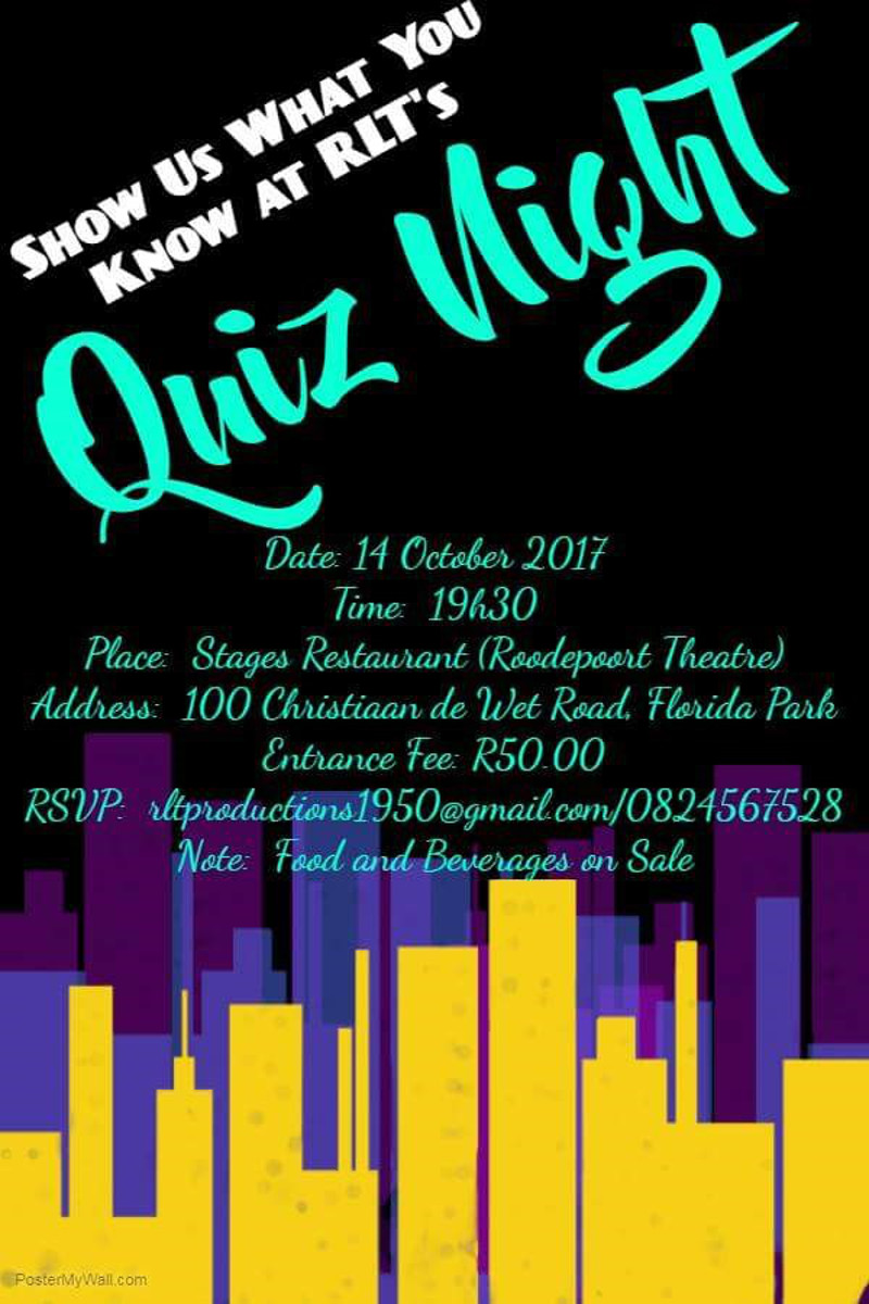 Quiz Night Poster Image