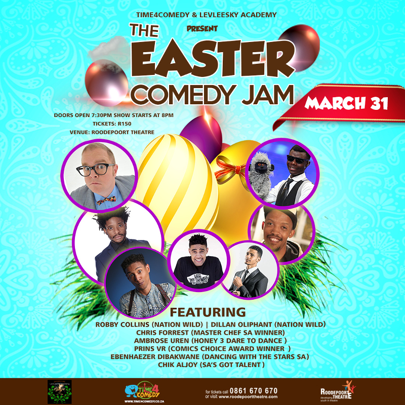 Easter Comedy Poster
