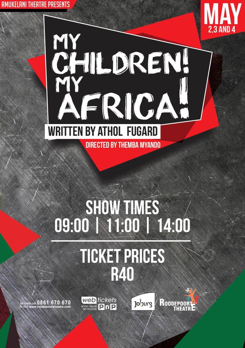 My Children My Africa poster