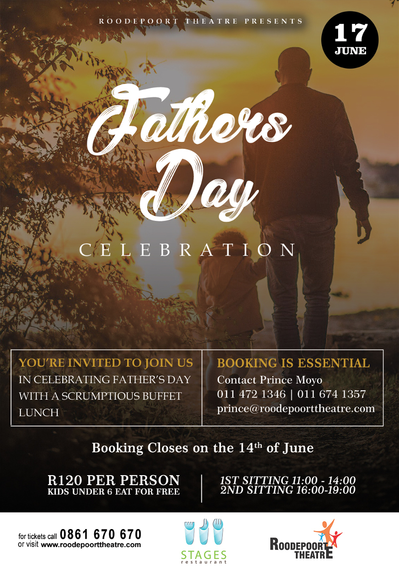 FATHERS DAY CELEBRATION – Roodepoort Theatre